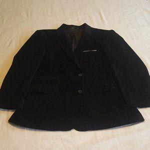 Men's Tommy Hilfiger Black Velvet Blazer 42R